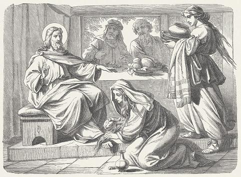 Jesusâ?? Anointing