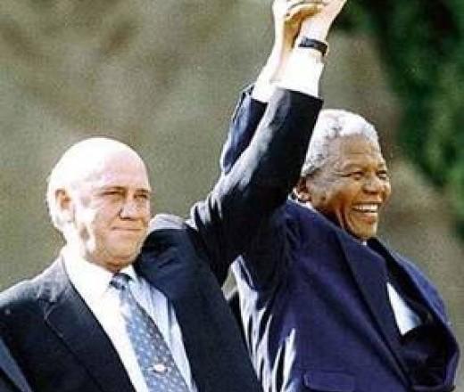 Mandela--DeKlerk